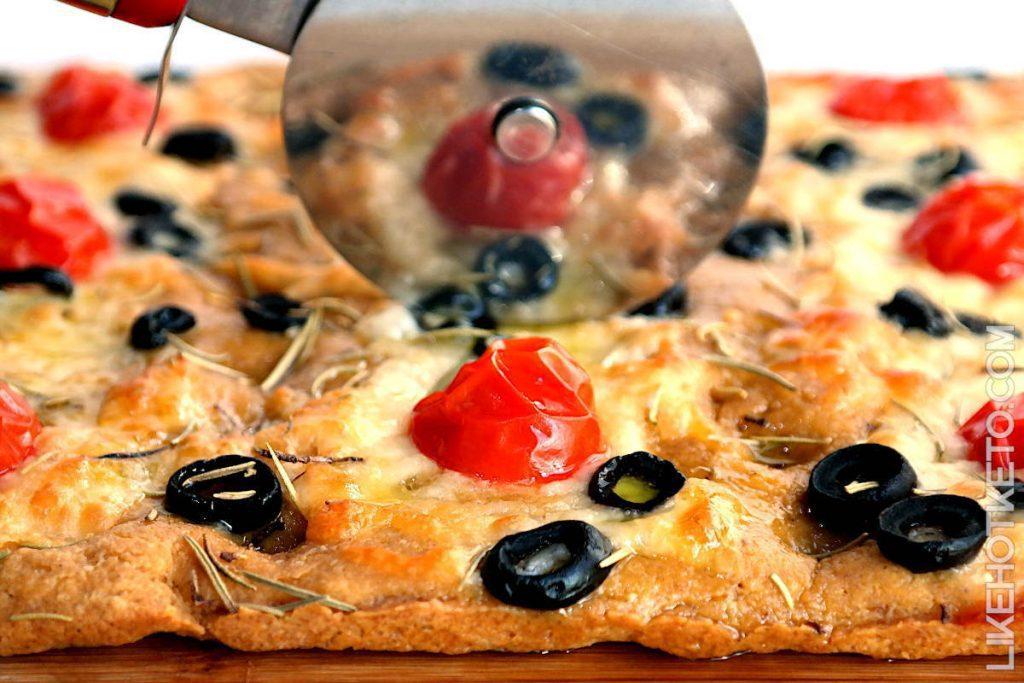 Focaccia Bread Keto Gluten Free Recipe