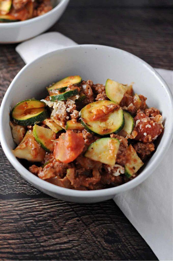 zucchini ground beef