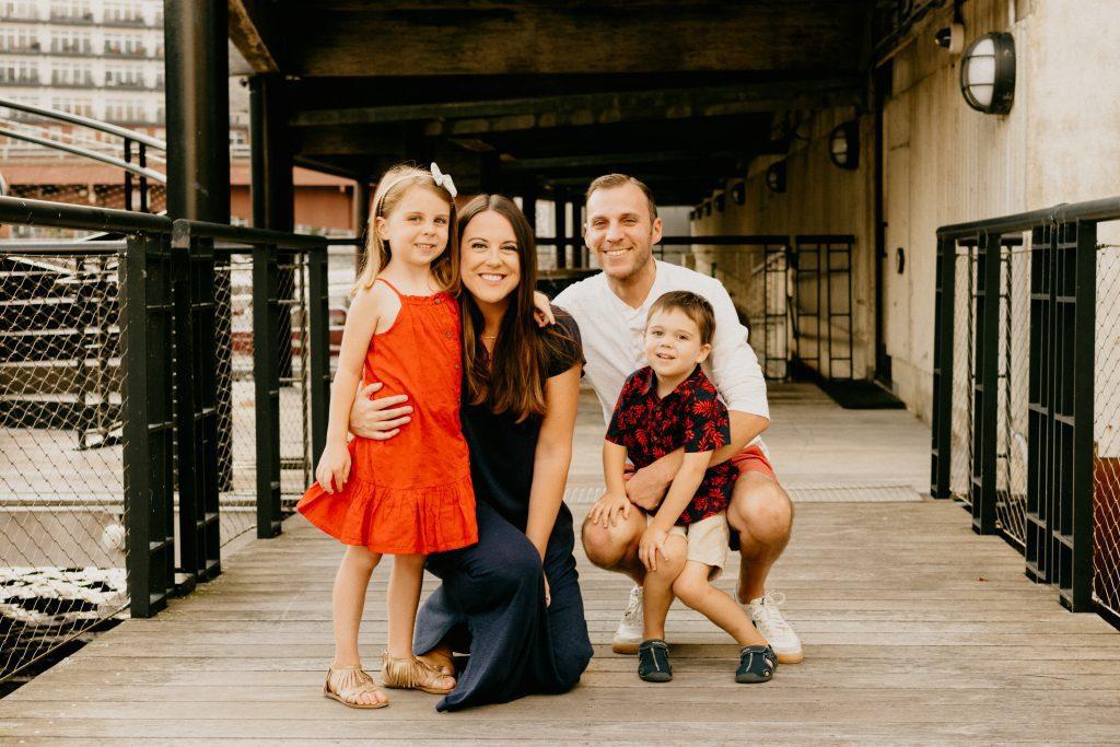 Milwaukee Riverwalk Family Photos