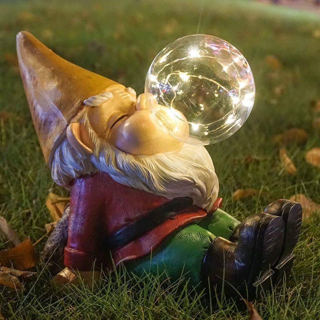 Garden Gnome glowing