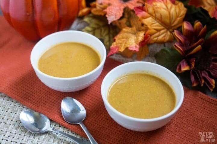 low carb pumpkin soup