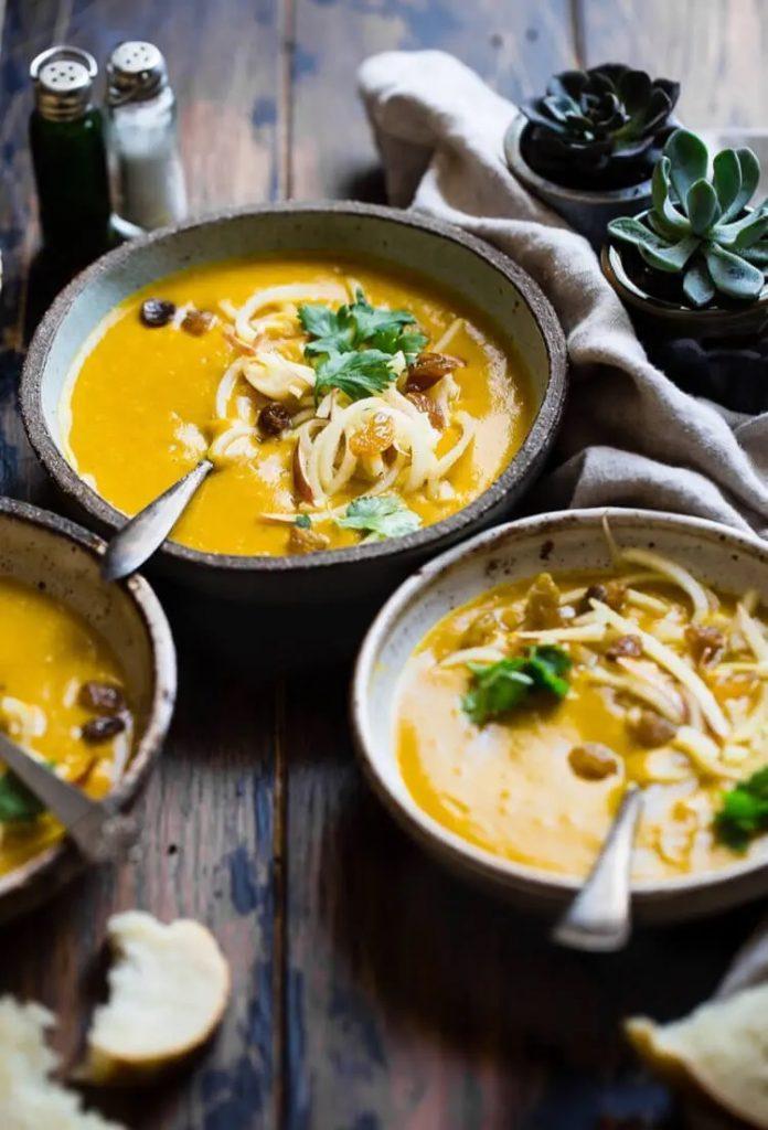 healthy pumpkin soup