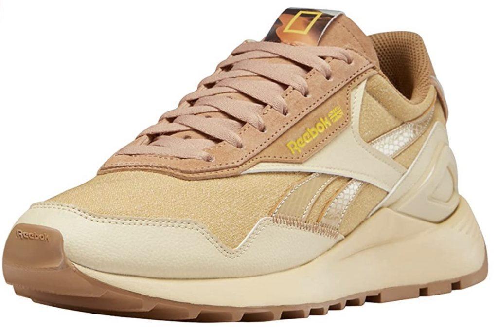reebok legacy gold sneakers