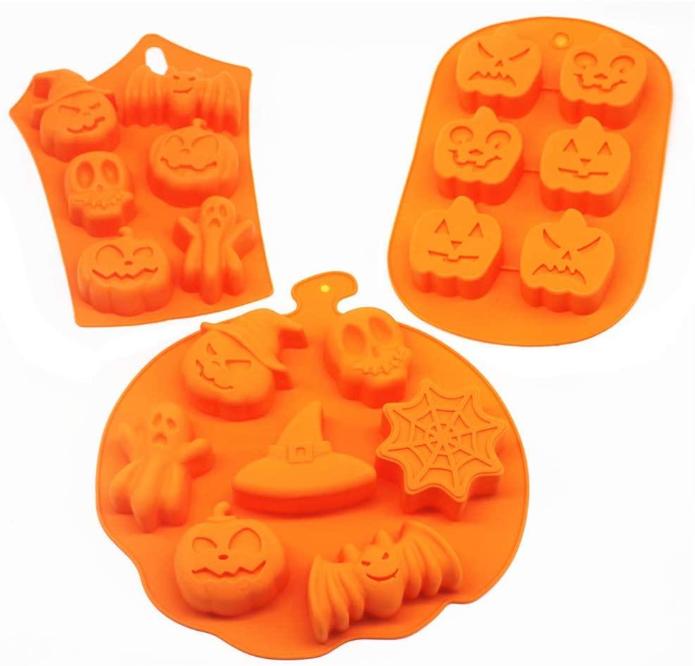 silicone halloween molds